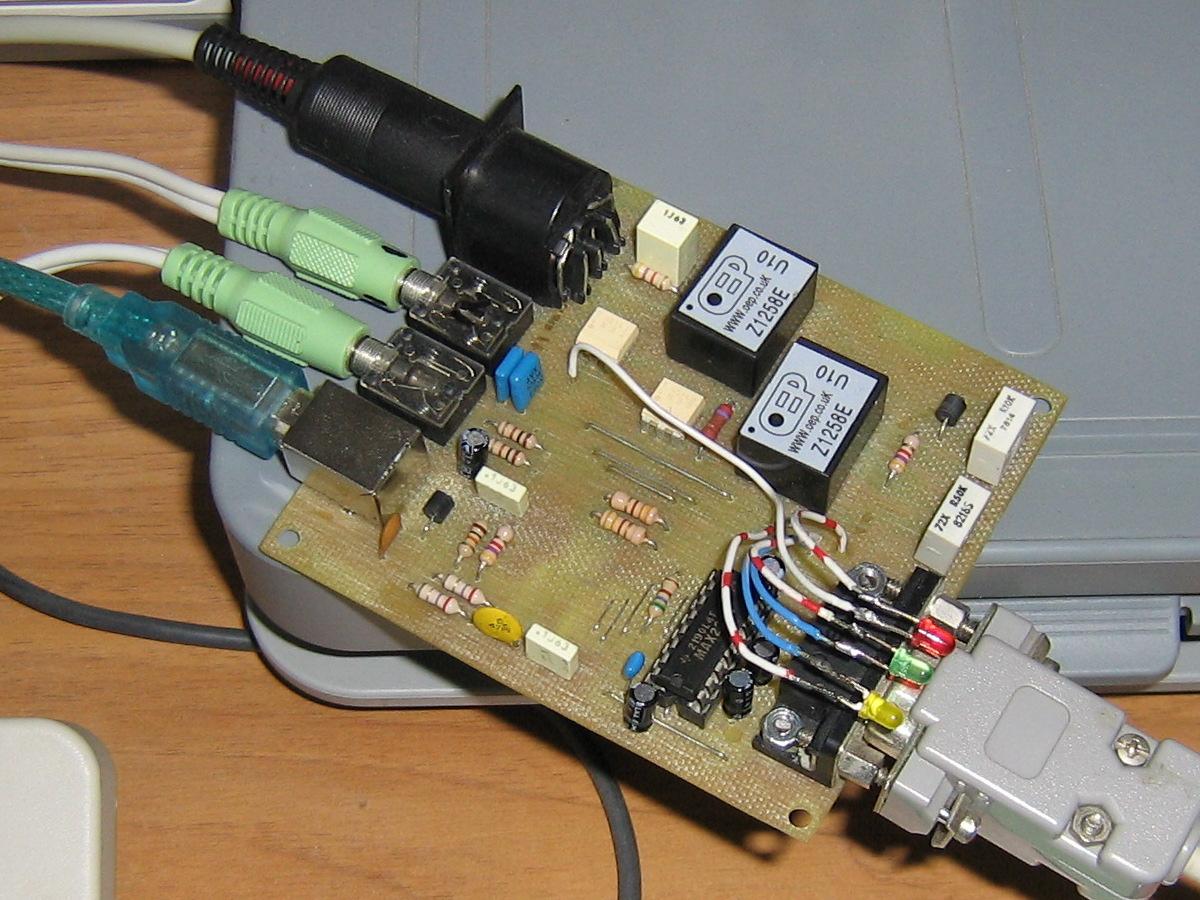 Interfaccia RTTY converte il segnale USB in RS232